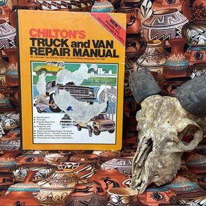 1980 Time Chilton's Truck & Van Repair Book